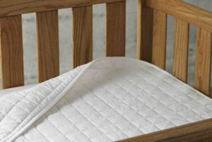 Organic Cotton Crib Mattress Pads