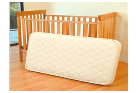 Natural Rubber Crib Mattress by Eco Baby