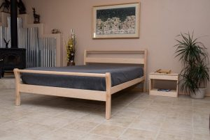 Nomad Furniture Taos Sleigh Bed