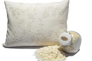 Suite Sleep Shredded Rubber Pillow Review and May Giveaway
