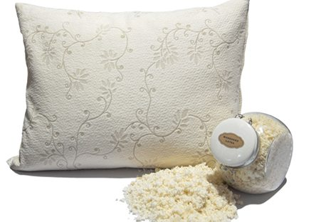 suite sleep shredded rubber pillow