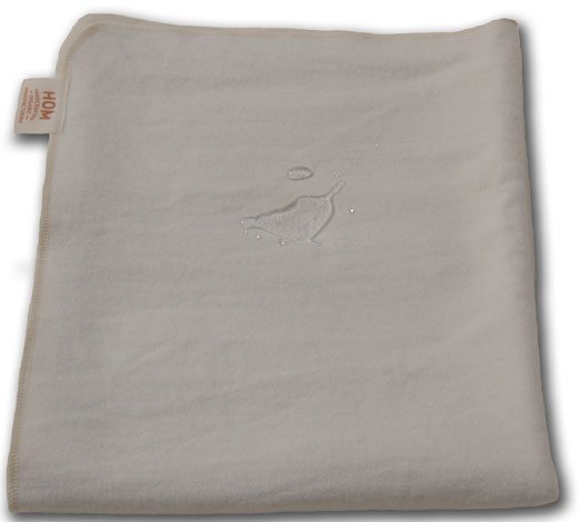 wool moisture pad