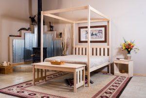 Nomad Furniture Capitan 4 Poster Bed