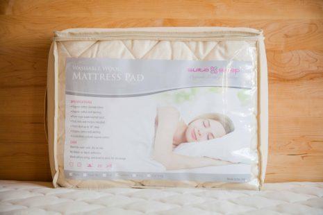 Washable Wool Organic Mattress Pad By Suite Sleep