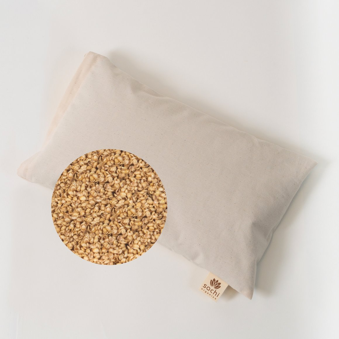 Sachi Organics Buckwheat Or Millet Pillow The Natural