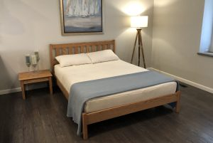 Nomad Furniture Mission Bed Frame With Premium Rails
